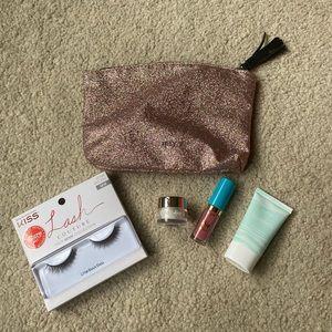 Ipsy Cosmetic Bag Skincare/Makeup Set